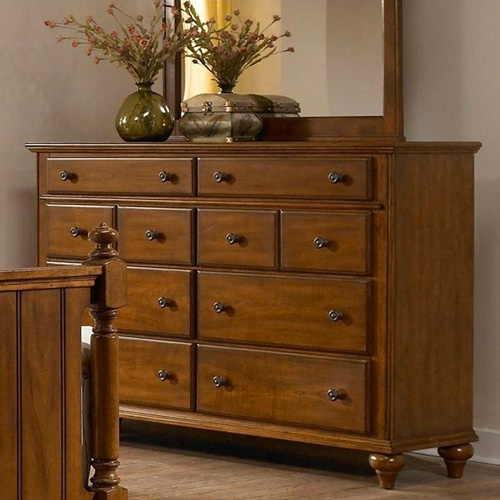 Broyhill hayden place light cherry 8 drawer dresser - Broyhill hayden place bedroom set ...