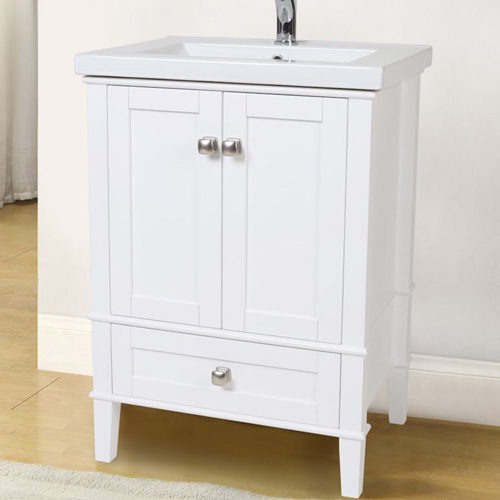 White Bathroom 2017: Danville Collection White Bath Vanity